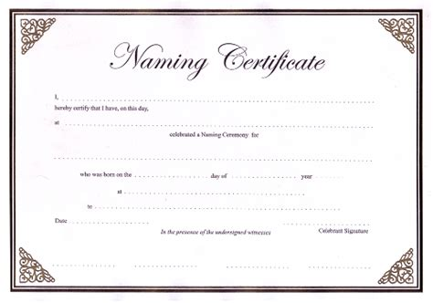 naming certificates free templates ccn certificate sles