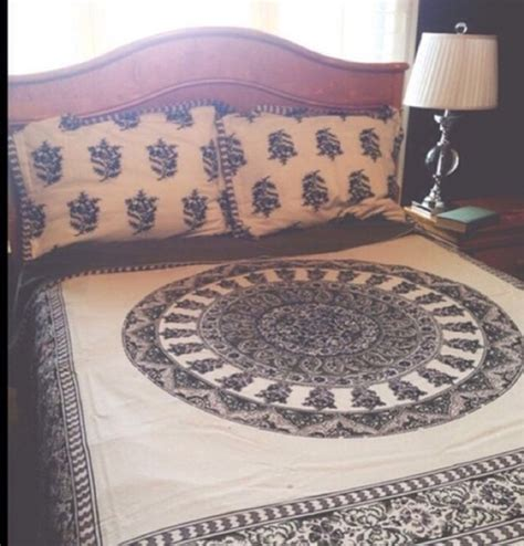 hippie bed comforters scarf bedding bohemian bedding quilt patterned
