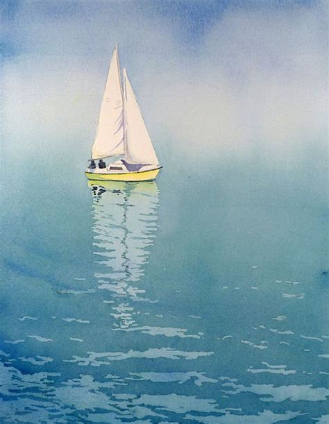 boat drawing prints 1 ocean art sailing poster nautical artwork lake artwork