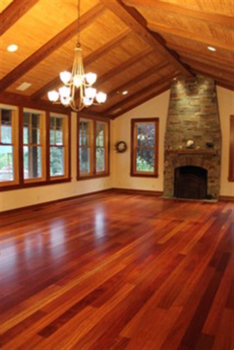 brazilian cherry hardwood flooring craftsman family