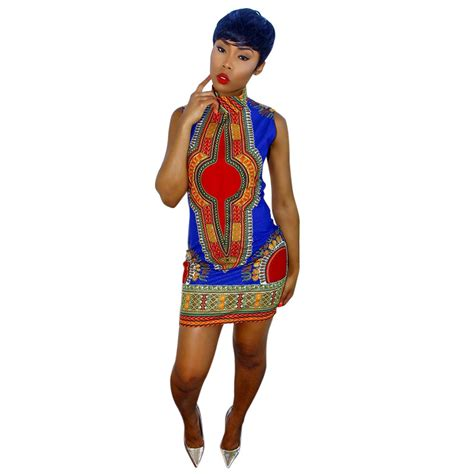 2016 african fashion dresses 2016 new summer plus size african print dashiki dress for