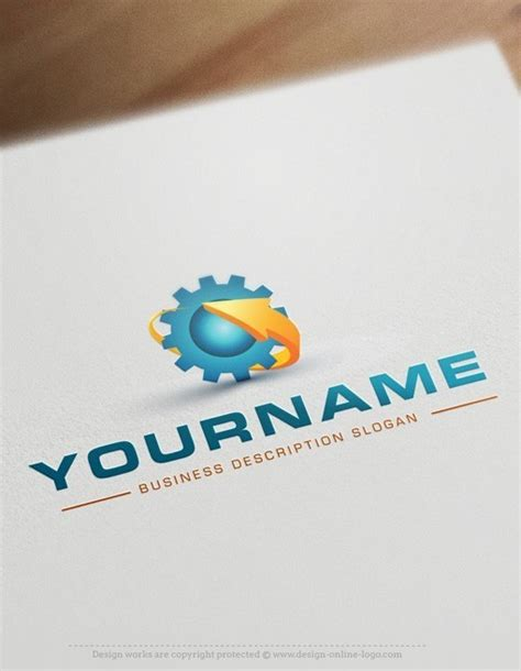 free logo design no purchase buy online industrial logo free business card