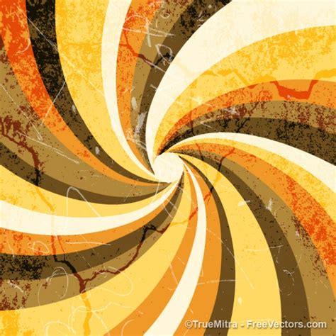 Was Ist Vintage by Vintage Grunge Sunburst Hintergrund Spirale Orange Braun