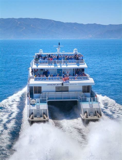 boat ride to catalina island the catalina express is a one of a kind ferry ride in