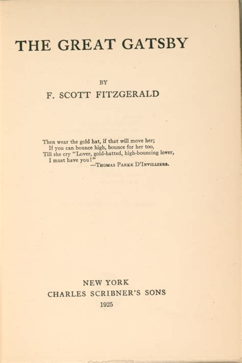 theme of education in the great gatsby teaching the american 20s image gallery title page from