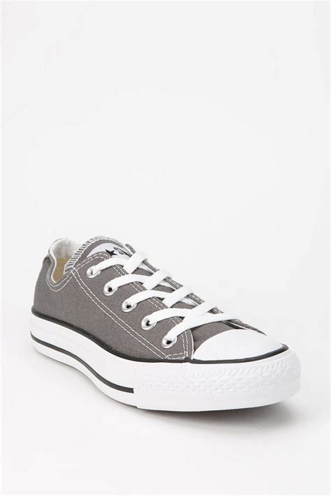 Sepatu Converse All Start Low Grey converse all low tops grey www imgkid the