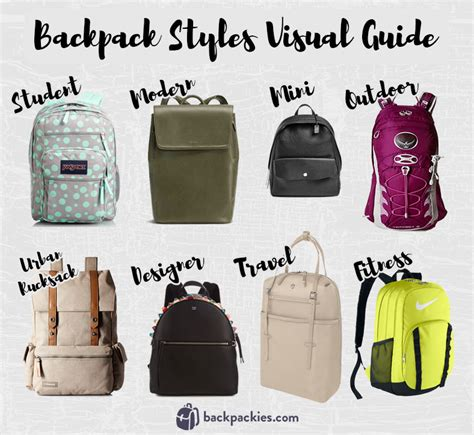 rucksack style a guide to different backpack styles 2017 backpackies