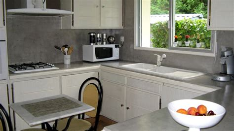 conrav beton cir 233 sur plan de travail cuisine avis