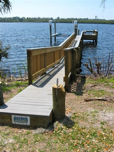 boat dock walkways bridges in apollo beach ruskin gibsonton
