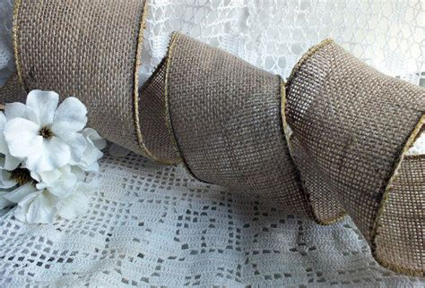 how to place burlap bow and burlap streamers on christmas tree burlap ribbon burlap pew bow burlap from butterbeanvintage on