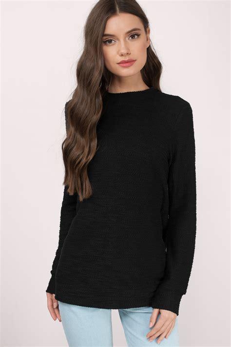 Sweater Wanita Black Casual For F118 cheap sweatshirts trendy clothes