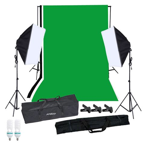 Softbox Lighting Kit andoer photography softbox lighting kit with studio