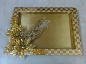 Indian Wedding Tray Decoration Ranjana Arts Www Ranjanaarts Com Trousseau Packing Tray