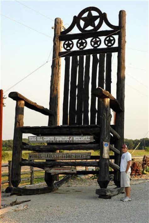 largest rocking chair the world s largest things menna loke lokuma wada must see