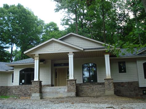 Double Front Porch House Plans by Craftsman Style Front Porch Addition Ideas Remodeling Of