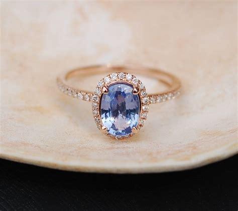 Blue Sapphire 3 35ct 1 35ct cornflower blue oval sapphire ring 14k