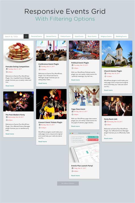 design calendar events events calendar registration wordpress plugins