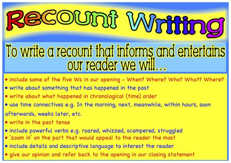 biography connectives ks2 ms alisons blog recount writing