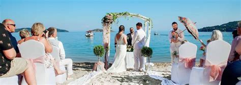 Skiathos Beach Wedding and Reception   Perfect Weddings Abroad