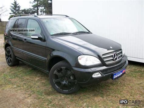 mercedes ml350 2003 2003 mercedes ml350 xenon leather lpg auto gas