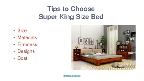 tips to choose the right king size bed to create a get best discount on super king size bed online wooden space