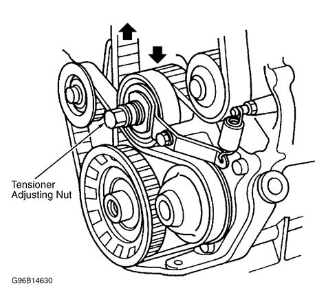 honda accord serpentine belt routing  timing belt diagrams