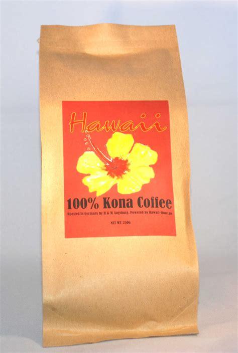 Kona Aufkleber Set by 100 Kona Kaffee Hawaii Store De