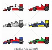 Racer Clipart Cartoon  Pencil And In Color