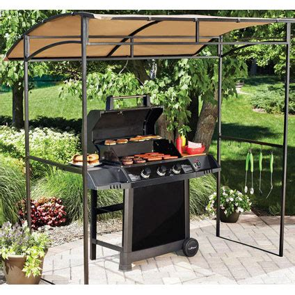 mainstays curved grill shelter replacement canopy garden winds