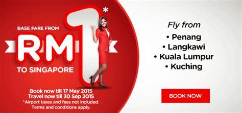 airasia singapore promo air asia flight promo to singapore rm1 contests