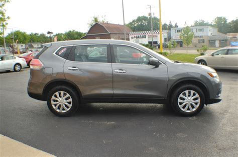 grey nissan rogue 2014 nissan rogue awd gray used suv sale