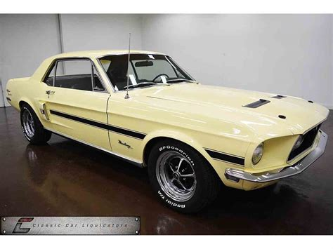 the 1968 ford mustang 390 gt 2 2 fastback