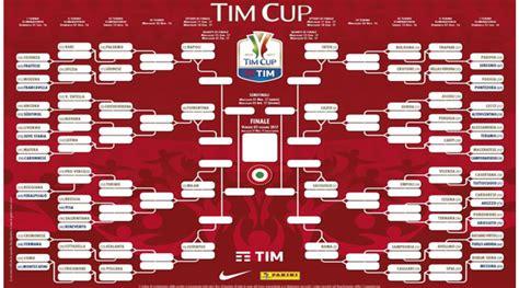 Coppa Italia Calendario Tabellone Coppa Italia 2017 Coppa Italia 2016 2017 Tim
