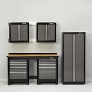 sears heavy duty garage cabinets garage storage sets find garage storage combos at sears