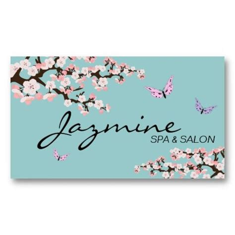 Cherry Blossom Business Card Template by 20 Best Cherry Blossom Business Cards Images On