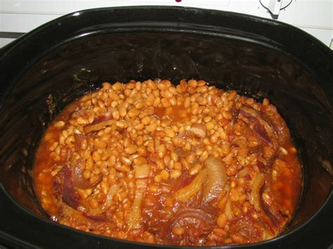 crock pot baked beans do it all working mom