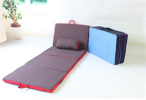 bed for cing folding cushion bed folding foam bed cushion on