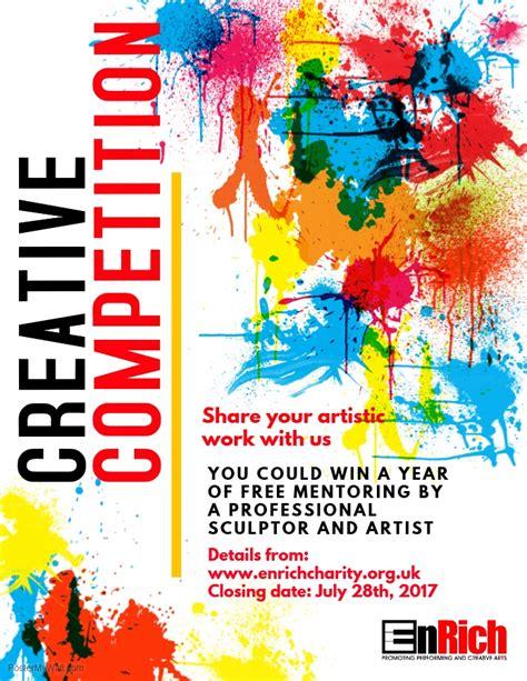 Enter Our Creative Competition Enrich Exhibition Template