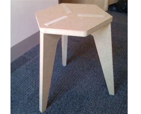 Fit Stool by Shopbot Rob Hemsley