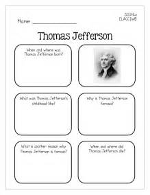 famous americans graphic organizers