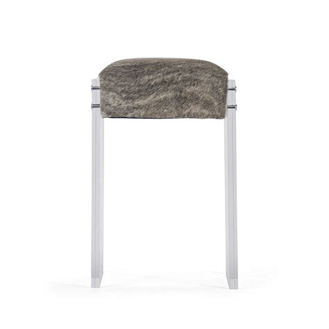 Acrylic Stool by Zentique Acrylic Hide Counter Stool