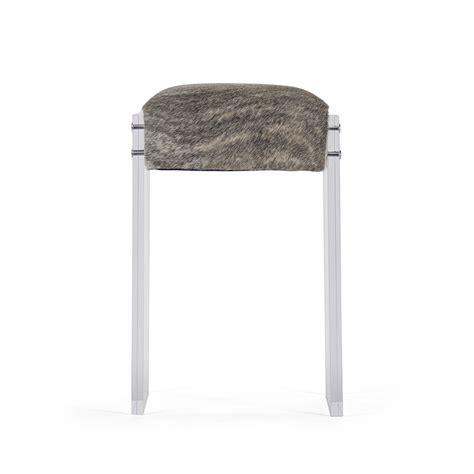 zentique acrylic hide counter stool