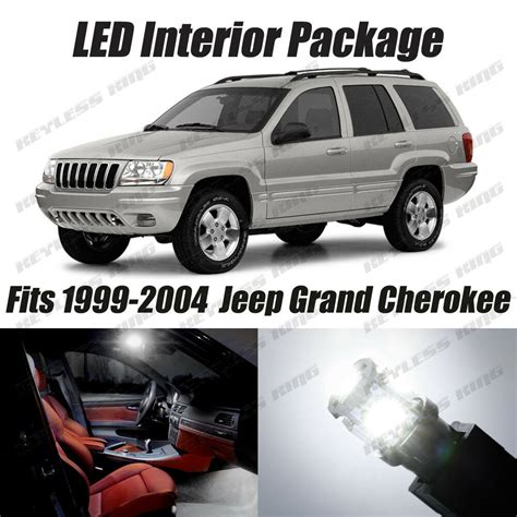 all car manuals free 1999 jeep grand cherokee electronic valve timing 16 pcs led white lights interior package kit for jeep grand cherokee 1999 2004 ebay