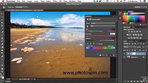 Adobe Photoshop Hue Saturation Tutorial | adobe photoshop cc tutorial turning hue and saturation