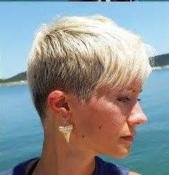 clipper cut long side bang pixie short hairstyles