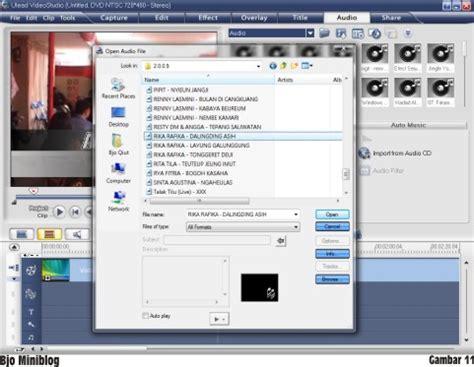 tutorial edit video dengan ulead tutorial sederhana editing video menggunakan ulead video