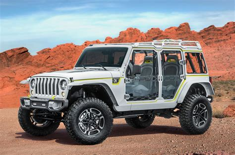 Jeep Safari Jeep Reveals Grand Wrangler Compass Concepts