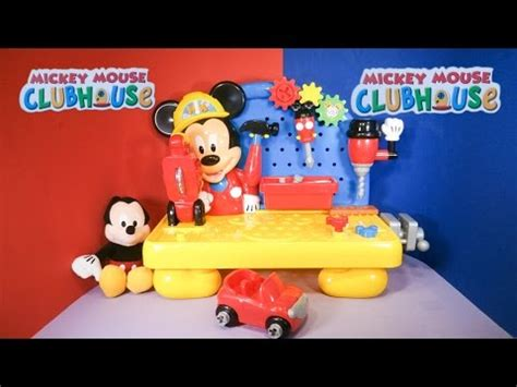 mickey mouse clubhouse work bench mickey mouse clubhouse disney junior mickey mouse handy