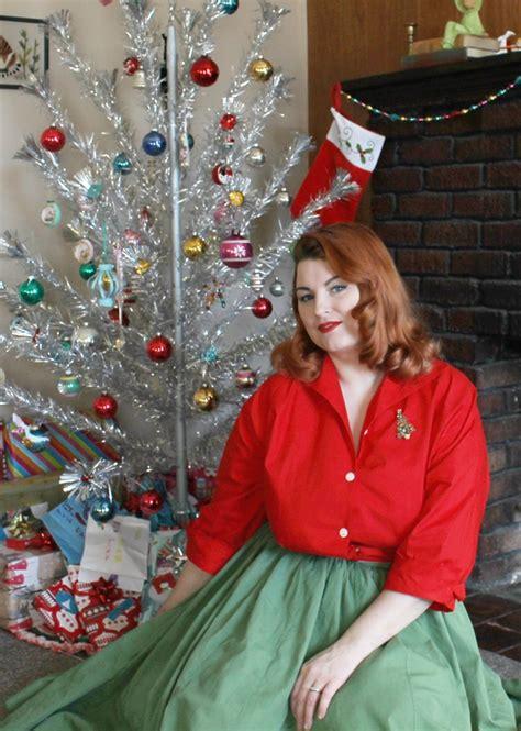 my 1950s christmas tree va voom vintage vintage