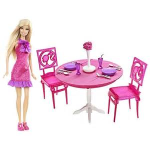 Barbie Dining Room Set by New Stardoll Design Studio Barbie Doll And Dining Room